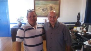 André Guerra e prefeito de Fortaleza Roberto Cláudio