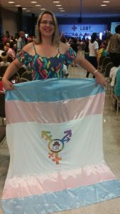 Amanda Anderson, presidente do PDT Diversidade