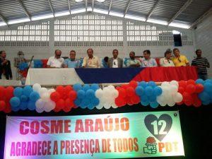 Convenção de Cosme Araújo do PDT em Ilhéus 31-07-2016 - Divulgação