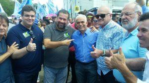 Lupi e Wolney Queiros, Lupi prestigiam campanha de Neco, em Jaboatão dos Guararapes