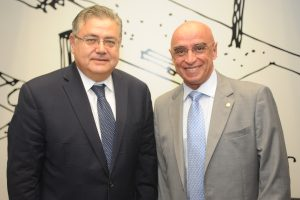 Mário Heringer recebe embaixador da Turquia na Secretaria de Relações Internacionais da Câmara
