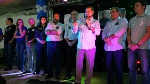 Carlos Lupi, Ciro Gomes e Carlos Eduardo Alves em Natal