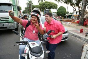 Hissa Abrahão intensifica ações de rua na reta final de campanha em Manaus