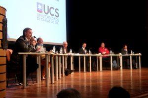 Edson Néspolo apresenta propostas para prefeitura de Caxias do Sul em painel promovido pela UCS