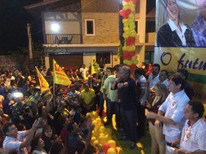 Cid Gomes e André Figueiredo reforçam campanhas no Maciço de Baturité (CE)