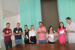 Lupi, André Figueiredo e Cid Gomes exaltam novas filiações ao PDT do Ceará,