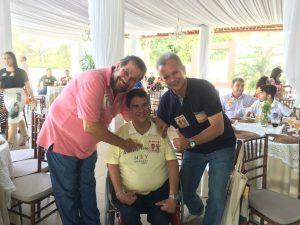 Lupi, André Figueiredo e Cid Gomes exaltam novas filiações ao PDT do Ceará.