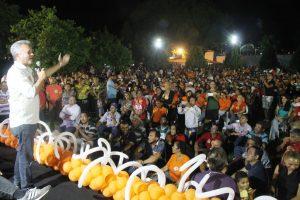 Milhares lotam encontro de Gilmar Bender em Juazeiro do Norte (CE)