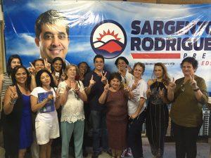 Sargento Rodrigues ouve candidatas do PDT e líderes comunitárias de Belo Horizonte