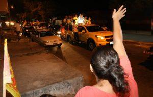 Carreata: Começaremos um segundo governo inaugurando obras', afirma Roberto Cláudio
