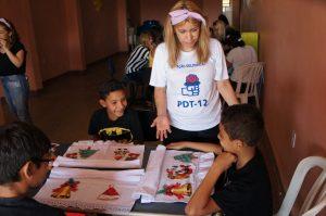 Ação Solidária do PDT-DF celebra o Dia das Crianças