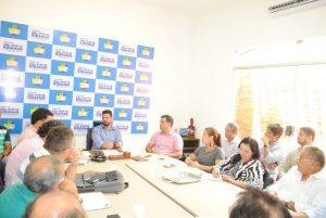 Gil Cutrim autoriza processo de transição da gestão municipal em São José do Ribamar