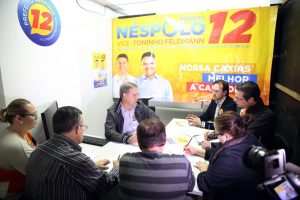 Edson Néspolo agradece pelos mais de 100 mil votos recebidos em Caxias do Sul (RS)