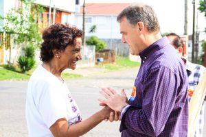 Caminhadas movimentam fim de semana de Edson Néspolo em Caxias do Sul (RS)