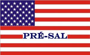 Bandeira Estados Unidos - Pré-sal