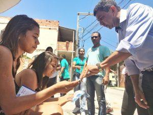 """""""Nossa campanha foi abraçada pelo voluntariado"""", afirma Sergio Vidigal"""