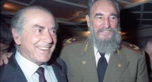 Leonel Brizola e Fidel Castro