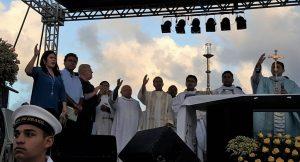 Carlos Eduardo celebra a fé e festejando a padroeira de Natal