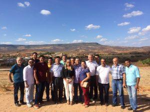 PDT reúne prefeitos eleitos para conhecer modelo administrativo de Porteiras (CE)
