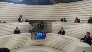 Líder do PDT na Câmara, deputado Weverton Rocha, no programa Roda-Viva