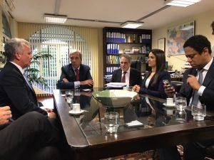 André Figueiredo viabiliza diálogo com União Europeia sobre Proteção de Dados