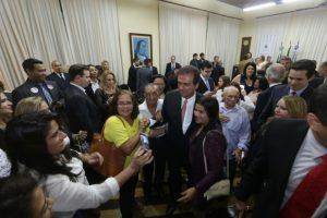 Carlos Eduardo toma posse para novo mandato como prefeito de Natal