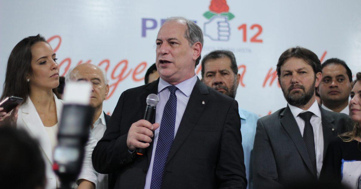 Resultado de imagem para Ciro Gomes com a esposa na convenção do PDT em Brasilia