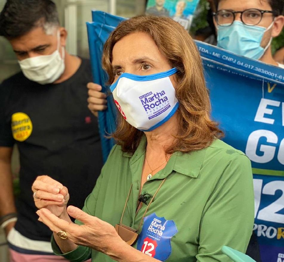 Martha Rocha se compromete a dar transparência total às
